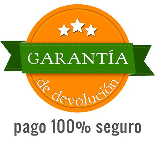 Garantía de devolución en angelmafarma, farmacia de Angel Mª Martínez Allué