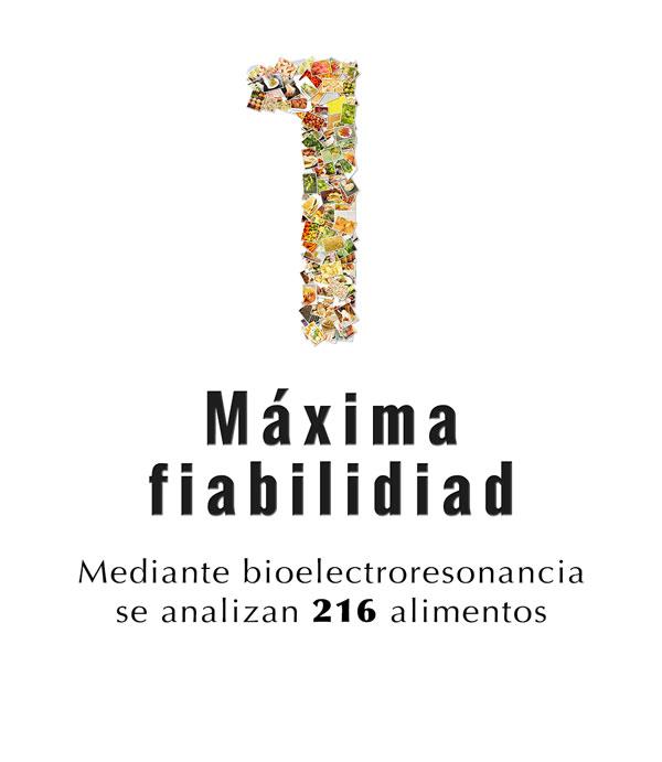 1er paso del test de intolerancia alimentaria en la farmacia de Angel Mª Martínez Allué