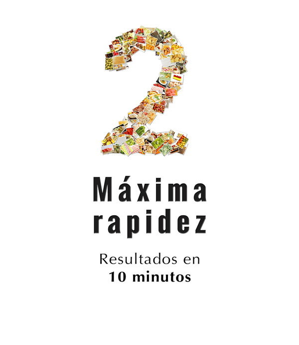 2º paso del test de intolerancia alimentaria en la farmacia de Angel Mª Martínez Allué